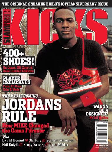 Kicks Magazine 10th Anniversary Jordans Rule