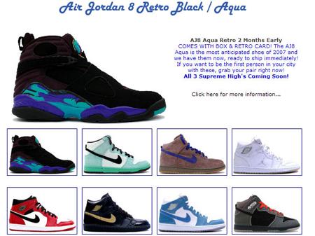 Air Jordan 8 Aqua Pre-Release Now At KIXCLUSIVE!
