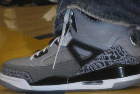 New Jordan Spizike Cool Grey