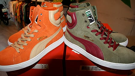 New Puma First Round Colors