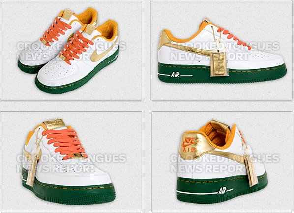 Nike Air Force 1 iD BBK BBQ Crooked Tongues