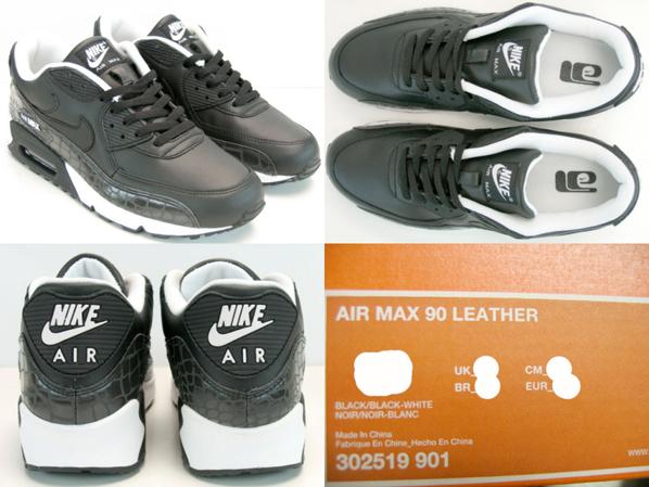 Nike Air Max 90 Black Reflector Pack