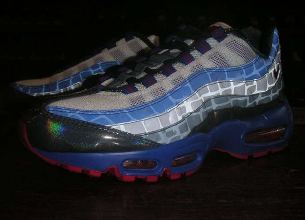 purchase cheap 04df4 3d116 Nike Air Max 95 Reflective Croc | SneakerFiles