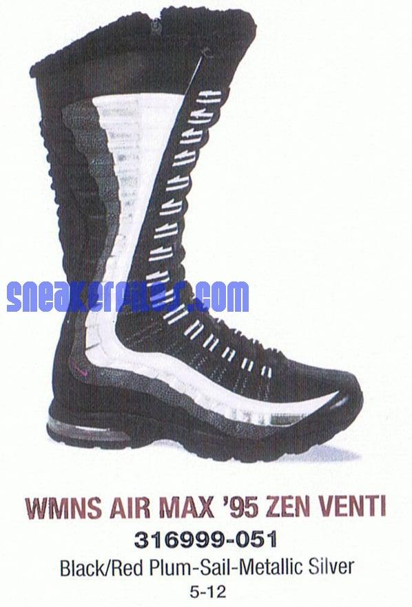 innovative design d519f 5bbad Nike Air Max 95 Zen Venti Womens