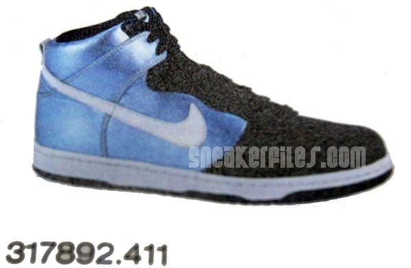 Nike Dunk High Metallic Blue January 2008