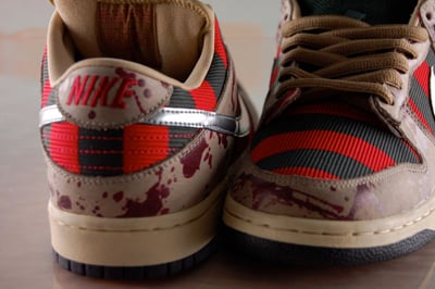 Nike Dunk SB Low Freddy Krueger Preview