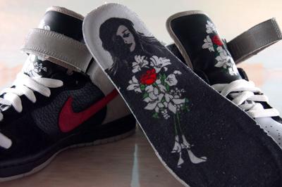 Nike Dunk SB Mid Guns N Roses November Rain