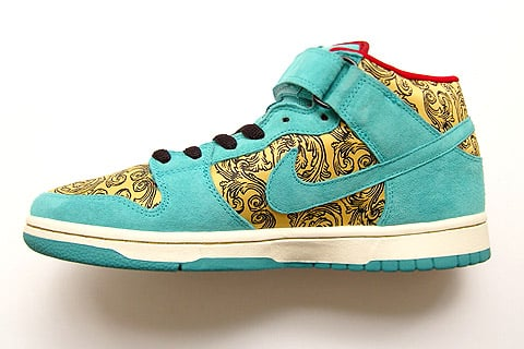 reputable site 86cb0 731c7 Nike Dunk SB Mid Peacock - 4711 Cologne