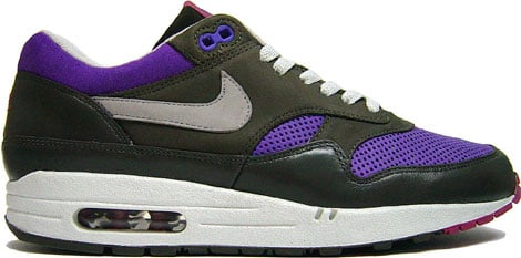 Nike Air Max 1 Dunk Trainer Mid Purple Pack at Purchaze