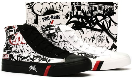 Pro-Keds Metro Slip-On - Dura Cool Mesh - Royal High Graffiti