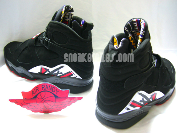 Air Jordan Retro 8 Black/Red Playoff Debut