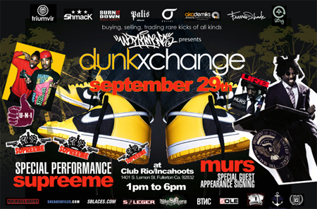 Dunkxchange Fullerton September 29th with U-N-I