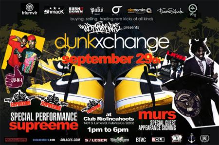 Dunkxchange Fullerton September 29th with U-N-I