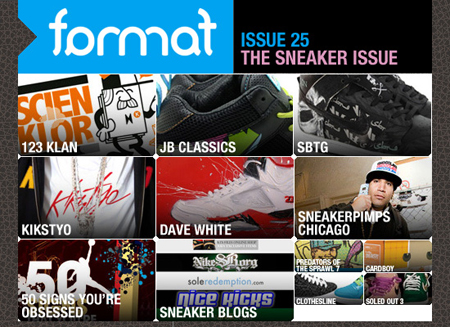 Format Issue 25: The Sneaker Issue
