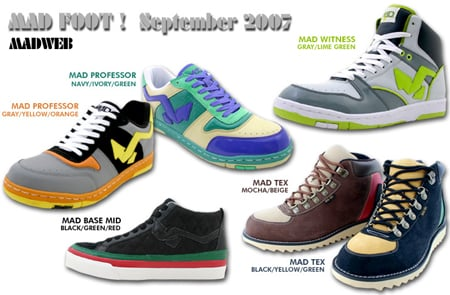 Mad Foot September 2007 Releases