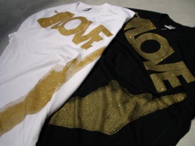 nike t shirts gold