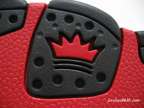 Nike Air CB34 Retro Black/Red Detailed Look