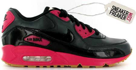 Nike Air Max 90 Womens Black/Pink