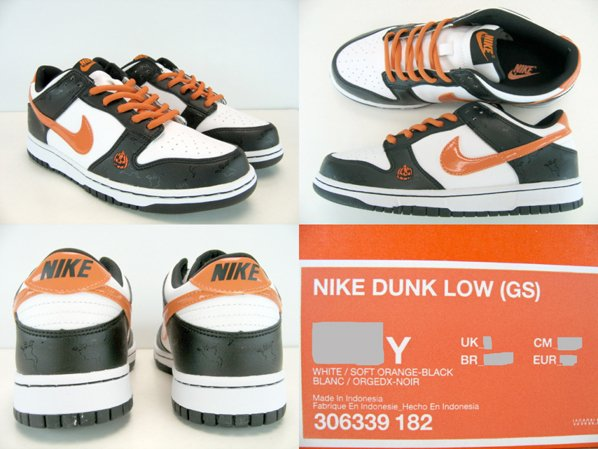 Nike Dunk High and Dunk Low GS Halloween Pack  245243a7d