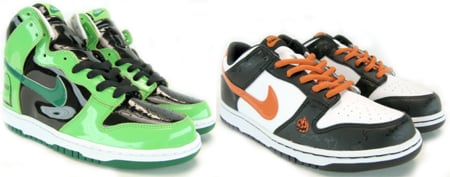 promo code ef9ca e58f6 Nike Dunk High and Dunk Low GS Halloween Pack | SneakerFiles
