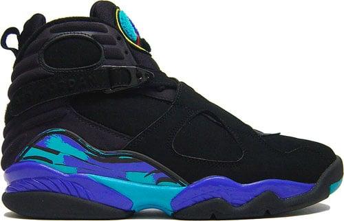Nike Air Jordan 8 VIII Retro Aqua at Purchaze