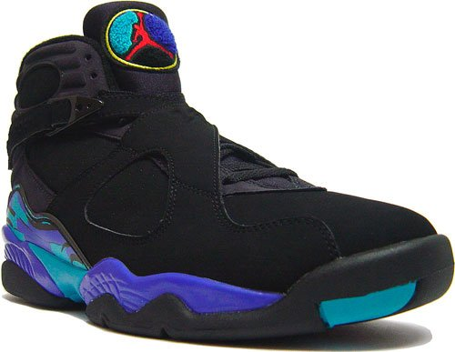Nike Air Jordan 8 VIII Retro Aqua at Purchaze
