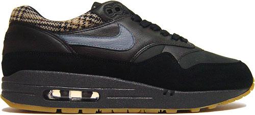 Nike Air Max 1 Black Suede
