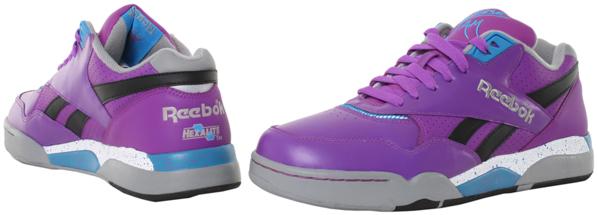 Reebok Reverse Jam Purple and Green
