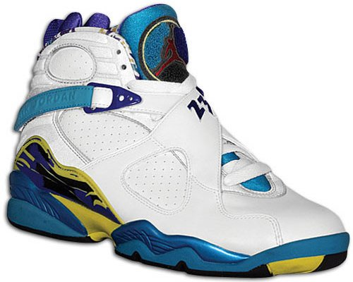 06e2a618240 Release Date Reminder: Air Jordan 8 Aqua and Womens White Aqua ...