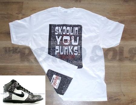 Skoolin You Punks Composition Dunks T-Shirt