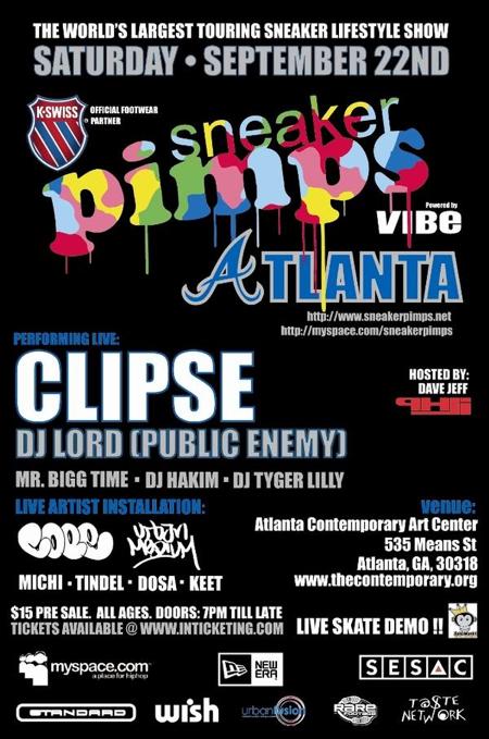 Sneaker Pimps Atlanta September 22nd