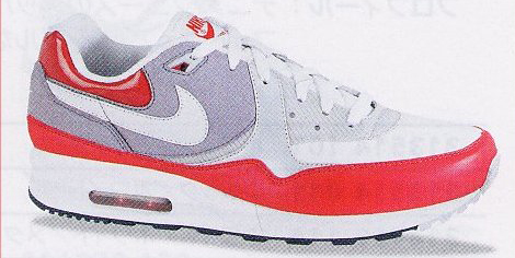 Two Nike Air Max Lights 2008