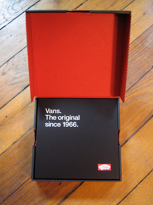 Vans Collectors Box