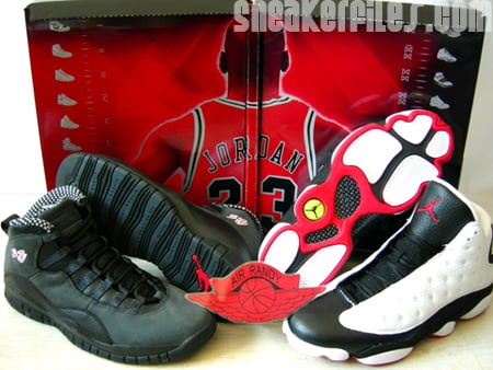 outlet store 14747 11c5d Air Jordan 10 and 13 Countdown Pack Box Release Dates