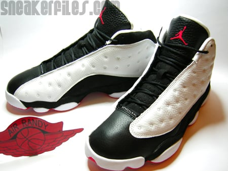 Air Jordan 13 Retro White/Black-True Red
