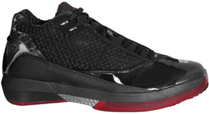 85cc57b30fa Air Jordan 22 (XX2) 5/8 Black / Varsity Red - White | SneakerFiles