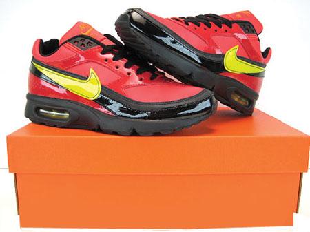 online store 7e548 28da2 Womens Nike Air Max Classic BW Red Yellow Black