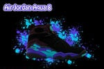 Air Jordan 8 Aqua Wallpaper