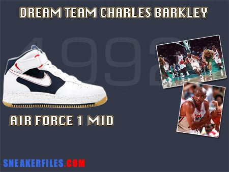 Sneakerfiles x Nike Air Force One Mid Charles Barkley