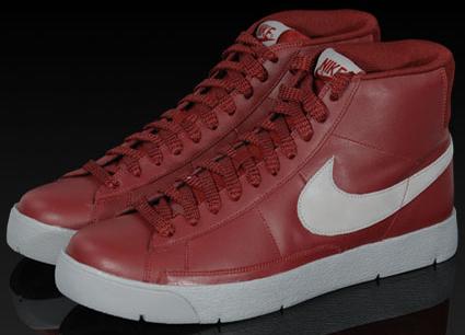 Nike Super Blazer Hi Premium Red/Grey