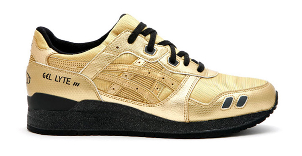 David Z x Asics Gel Lyte III Stainless Steel and Solid Gold Collection