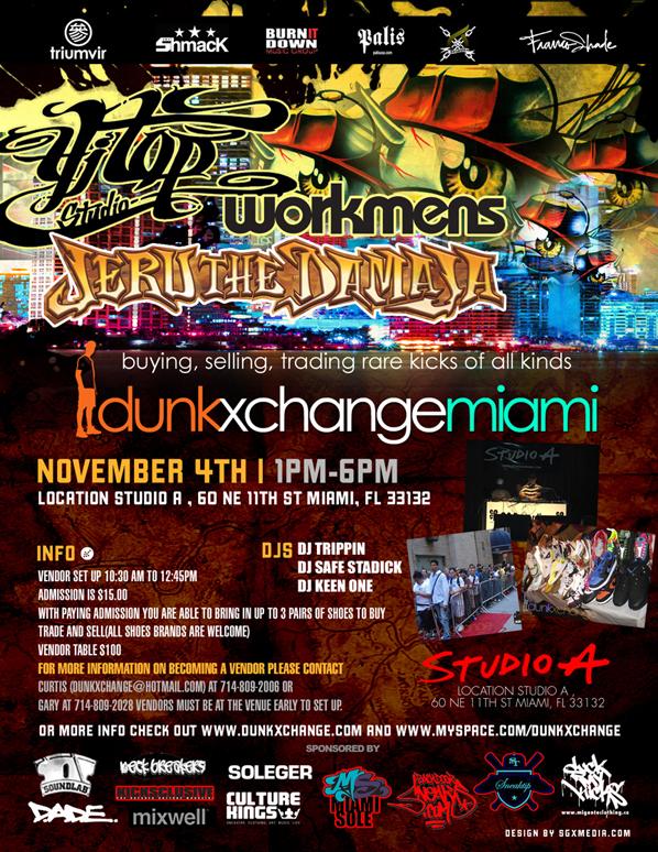 Dunkxchange Miami November 4th 2007