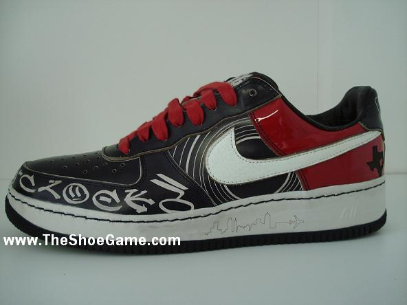 Nike Air Force One Greg Street Exclusive 1 of 1