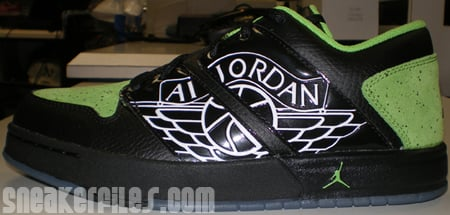 Jordan 1 Nu Retro Lime Green/Black GS Released
