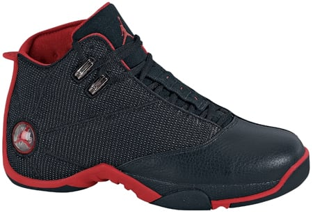Jordan 12.5 Black/Metallic Silver-Varsity Red