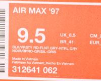 Nike Air Max 97 Black/Red/Flint