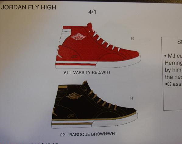 New Jordan Fly High