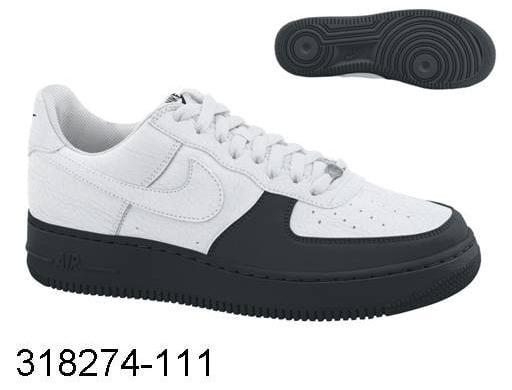 Nike Air Force Ones x Air Jordan 12