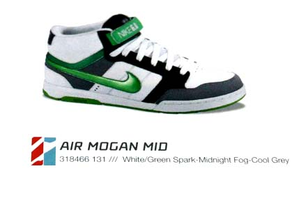 The latest Look in Nike's 08 Collection
