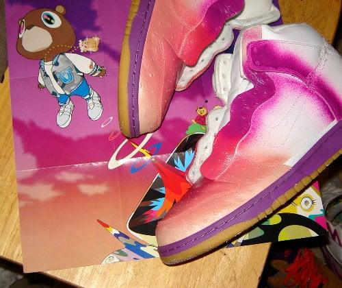 Nike Dunk High Custom Kanye West Graduation